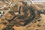 Jeden z toruńskich fortów - widok z góry