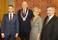 Zdjęcie z galerii Noworoczna sesja Rady Miasta Torunia