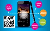 Plakat promujący aplikację mobuilną