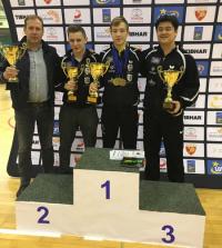 Tenisiści z medalami
