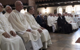 Homilię wygłosił biskup senior Andrzej Suski