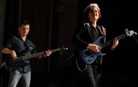 Jennifer Batten - gitarzystka Michaela Jacksona w Toruniu