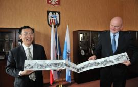 2012 - delegacja z Guilin u prezydenta Torunia