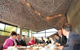 2015 - delegacja z Guilin w CKK Jordanki