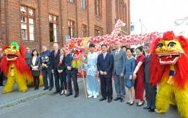 Zdjęcie z galerii Otwarcie Confucius Classroom w Toruniu