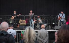 Open Blues na scenie i publiczność