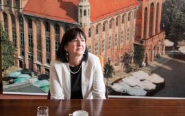 Na zdjęciu Barbara Jurkiewicz
