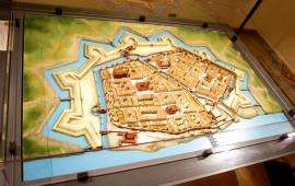 Mapa dawnego Torunia