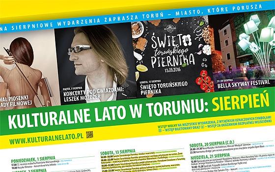 Sierpień 2016 w Toruniu