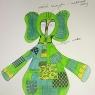 projekt kostiumu Słonia Habibi