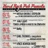 plakat wrześniowych koncertów w Pameli