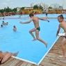 Letni basen na Skarpie
