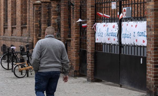 Strajk nauczycieli w Toruniu