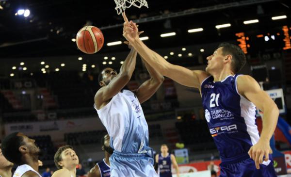 Na zdjęciu: mecz koszykówki