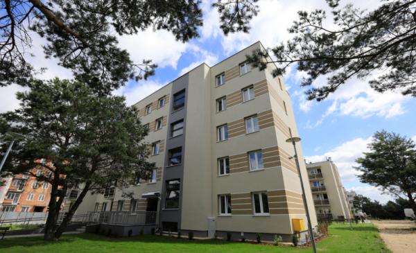 Na zdjęciu budynek przy ul. Poznańskiej