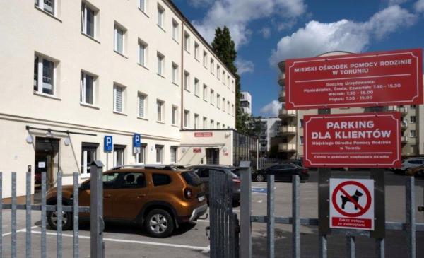 Na zdjęciu: siedziba MOPR-u przy ul. Słowackiego