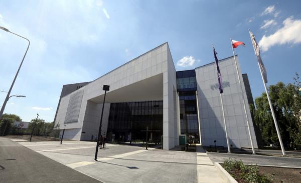 Na zdjęciu nowy budynek Sądu Rejonowego