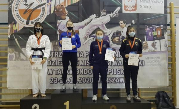 Na podium Mistrzostw Polski w taekwondo stanęła zawodniczka toruńskiego klubu KS Centuria, Agata Dondalska, która zdobyła brązowy medal