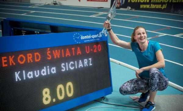 Rekordowe Halowe Mistrzostwa Polski