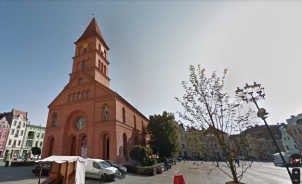 Na zdjęciu: budynek dawnego zboru przy Rynku Nowomiejskim