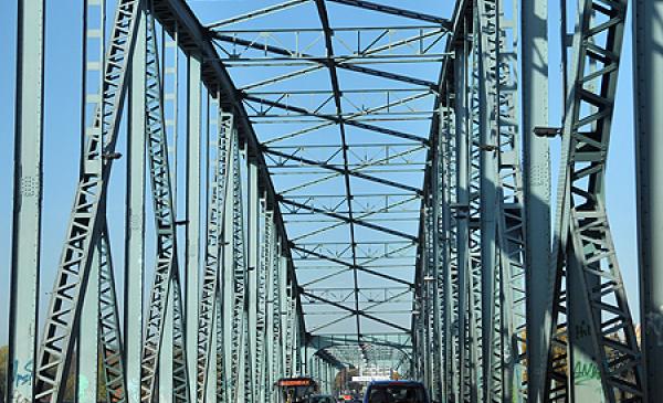 Remont mostu Piłsudskiego z mieszkańcami