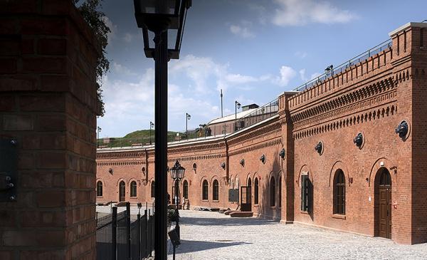 Budynek Muzeum Twierdzy Toruń