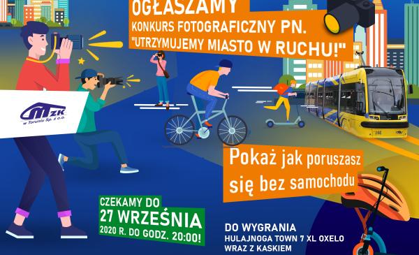 Na zdjęciu: plakat promujący konkurs
