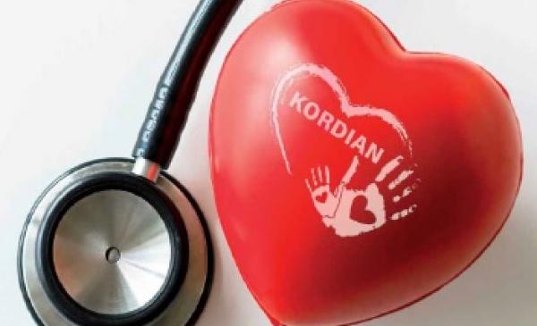 Grafika promująca Program profilaktyki chorób serca Kordian