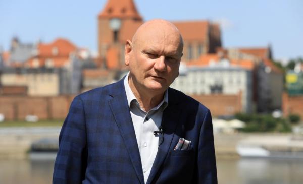 Zdjęcie portretowe prezydenta Michała Zaleskiego