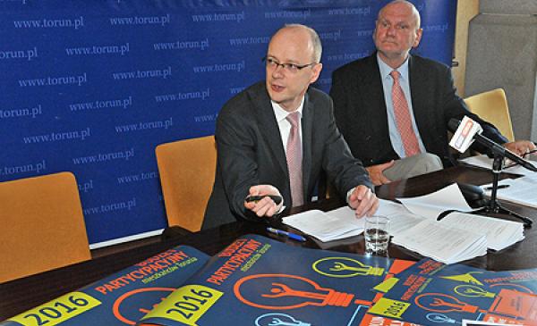 Konferencja prasowa w UMT