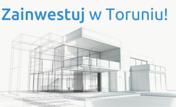 Na zdjęciu: projekt billboardu promującego potencjał gospodarczy Torunia