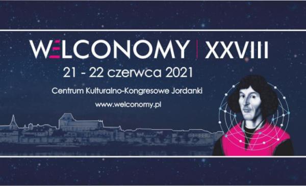 Na zdjęciu: plakat informujący o 28. Welconomy Toruń