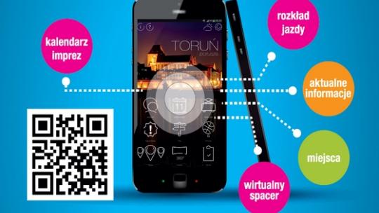 Zdjęcie do artykułu: Aplikacja Toruń Porusza
