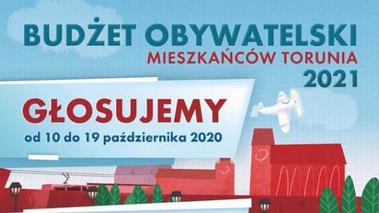 Fragment plakatu budżetu obywatelskiego