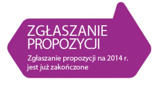 Zgłaszanie wniosków do budżetu partycypacyjnego 2014