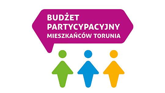 Logo budżetu partycypacyjnego Torunia