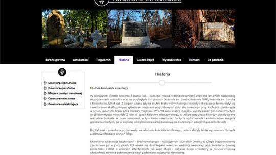 Toruń's Cemeteries