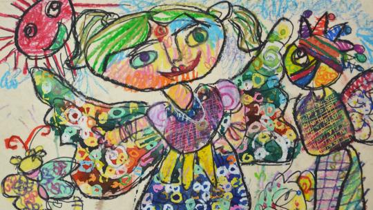Praca Nabanity Nitu lat 6 z Bangladeszu