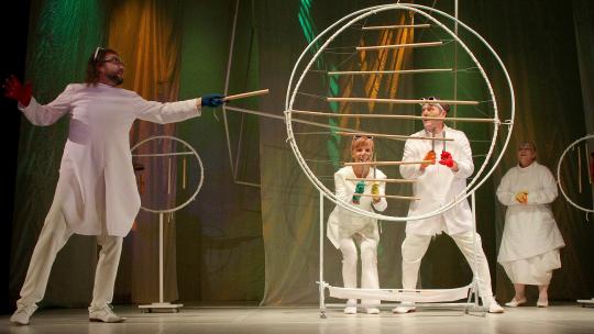 zdjęcie ze spektaklu, fot. Magdalena Kujawa