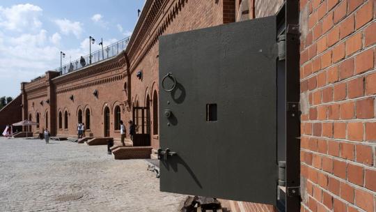 budynek Muzeum Twierdzy Toruń, fot. Wojtek Szabelski