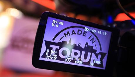 Na zdjęciu:: logo programu Made in Toruń