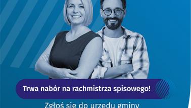 plakat nt. naboru na rachmistrzów