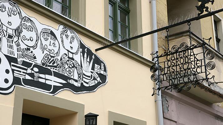 fasada galerii
