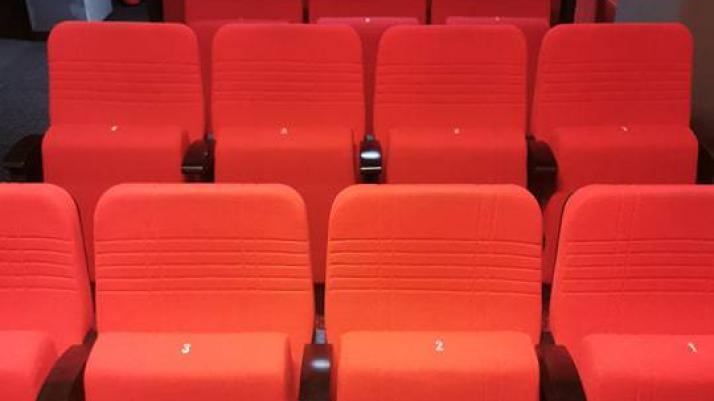 zdjęcie kinowych foteli