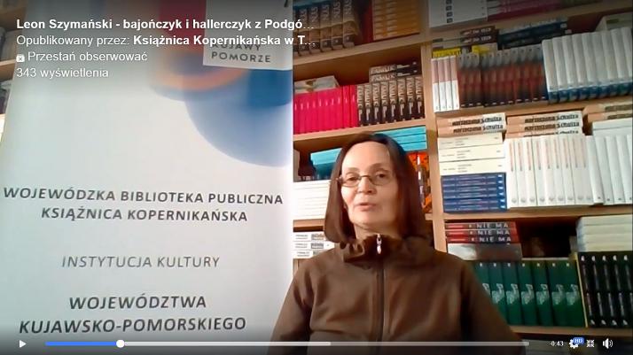 screen filmu zapowiadającego wykład