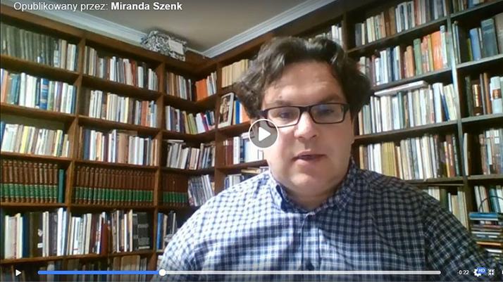 Michał Targowski nadaje online
