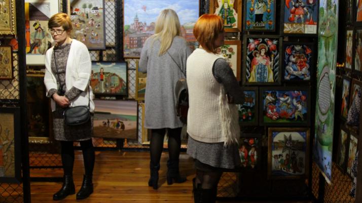 zdjęcie z wystawy, fot. Magdalena Kujawa