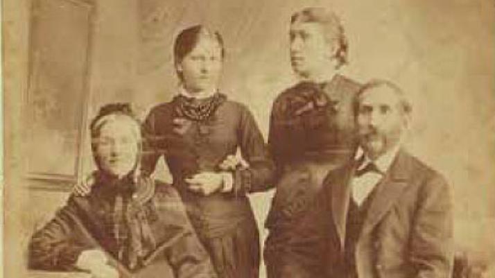 Alexander Jacobi, Portret rodzinny,Toruń, 1857-1894