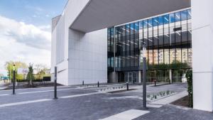 Na zdjęciu budynek Sądu Rejonowego w Toruniu