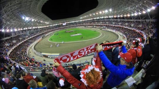 Kibice na Motoarenie podczas Speedway Grand Prix 2019